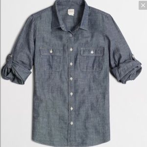 JCrew Perfect Fit Light Chambray